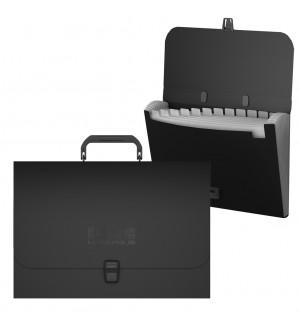 Папка-портфель с 12 отделениями