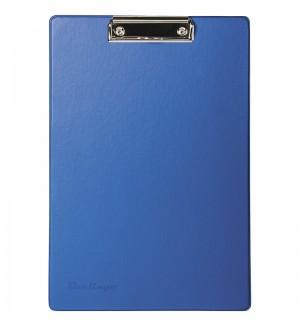 Планшет с зажимом, ПВХ, синий