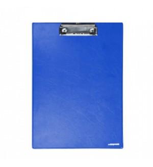 Планшет с зажимом, А4, синий