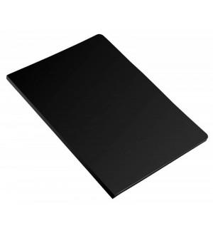 Папка с 40 прозр.вкладышами Бюрократ, ф.A4, пластик 0.40мм., черная,