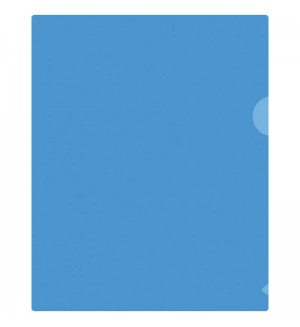 Папка-уголок А5 180мкм, прозрачная
