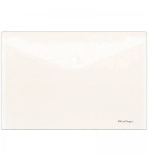 Папка-конверт на кнопке А4, 180мкм, матовая