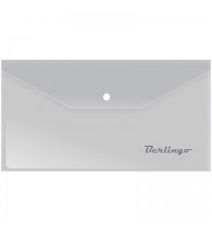 Папка-конверт на кнопке C6 Berlingo, 180мкм, матовая