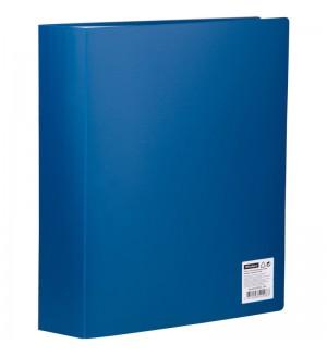 Папка с 80 вкладышами OfficeSpace, 35мм, 600мкм, синяя