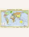 Политическая карта мира А1. Карта в пластике