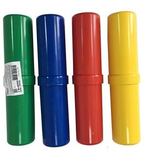 Пенал-тубус, пластик, ассорти-2