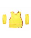 Фартук для труда закрытый с нарукавниками, 5-8 лет (желтый)