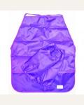 Фартук для труда и нарукавники фиолетовый, ткань
