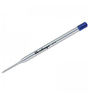 Стержень шариковый объемный, синий, 99мм, 1мм, метал. корпус