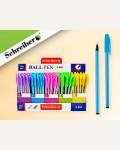 Ручка шариковая с чернилами на масляной основе, 5 цветов корпуса в ассортименте