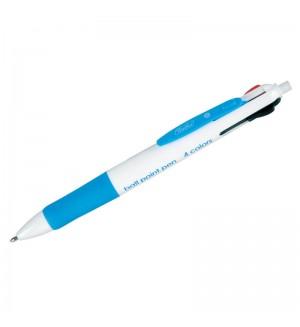 Ручка шариковая автоматическая, 4 цвета, 1 мм