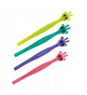Ручка шариковая-прикол «Жираф», ассорти