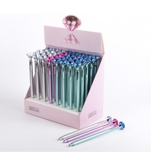 Ручка шариковая-прикол, «Кристалл», ассорти