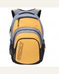 Рюкзак молодежный Grizzly RU-704-1/1, цвет: черный, желтый