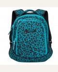 Рюкзак молодежный Grizzly RD-756-1/1 цвет: бирюзовый, черный