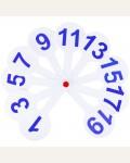 Касса-веер цифр от 1 до 20, ArtSpace