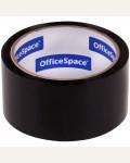 Клейкая лента упаковочная OfficeSpace, 48мм*40м, 45мкм, черная