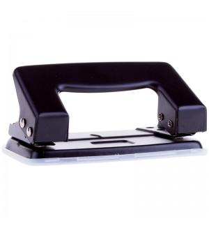 Дырокол OfficeSpace 10л., металлический, черный