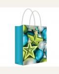 Пакет подарочный новогодний 26*32,7*13,6см Русский дизайн