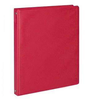 Тетрадь на кольцах А5, 80л., ArtSpace, обл. ПВХ, красный