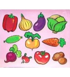 Трафареты пластиковые. Овощи