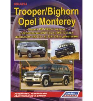 Isuzu Bighorn, Isuzu Trooper, Opel Monterey: Модели 1991-2002 г. выпуска