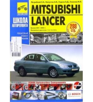 Mitsubishi Lancer 2001-2006 годов выпуска. Руководство по эксплуатации (в черно-белых фотографиях)