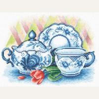 Набор для вышивания  Panna ГФ-0269 «Чаепитие»