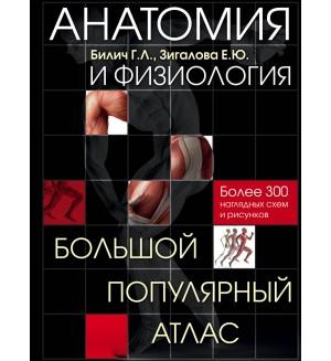 Билич Г. Анатомия и физиология. Большой популярный атлас. Более 300 наглядных схем и рисунков. Медицинский атлас
